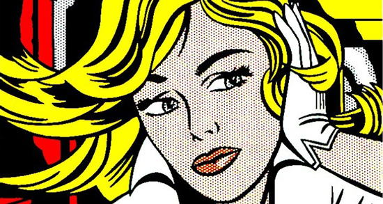Retrospectiva de roy lichtenstein en la tate gallery de - Cuadros pop art comic ...