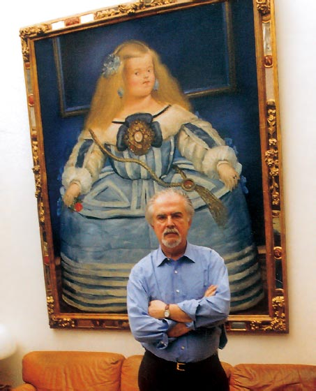 Fernando botero that is glorification and beauty of the for 3rd dimension salon
