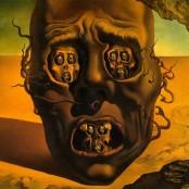El rostro de la guerra_Dali