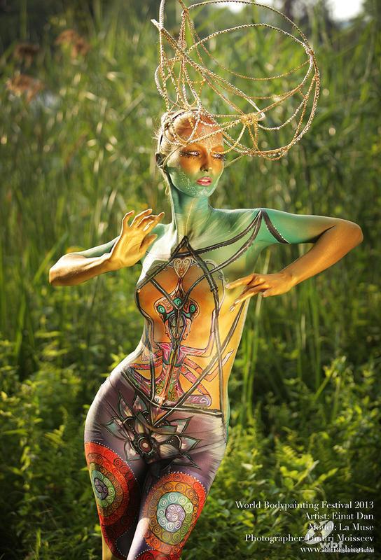 El arte efímero del body painting, cuerpos pintados desde la prehistoria hasta nuestros días