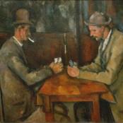 Paul_Cézanne_-_Les_Joueurs_de_cartes @sorayartgallery