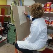 Taller de pintura Valdepeñas aprender a pintar 3