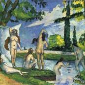 Cezanne bañistas@SorayARTGallery
