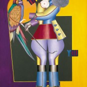 Richard Lindner Thank You 1971_@sorayartgallery
