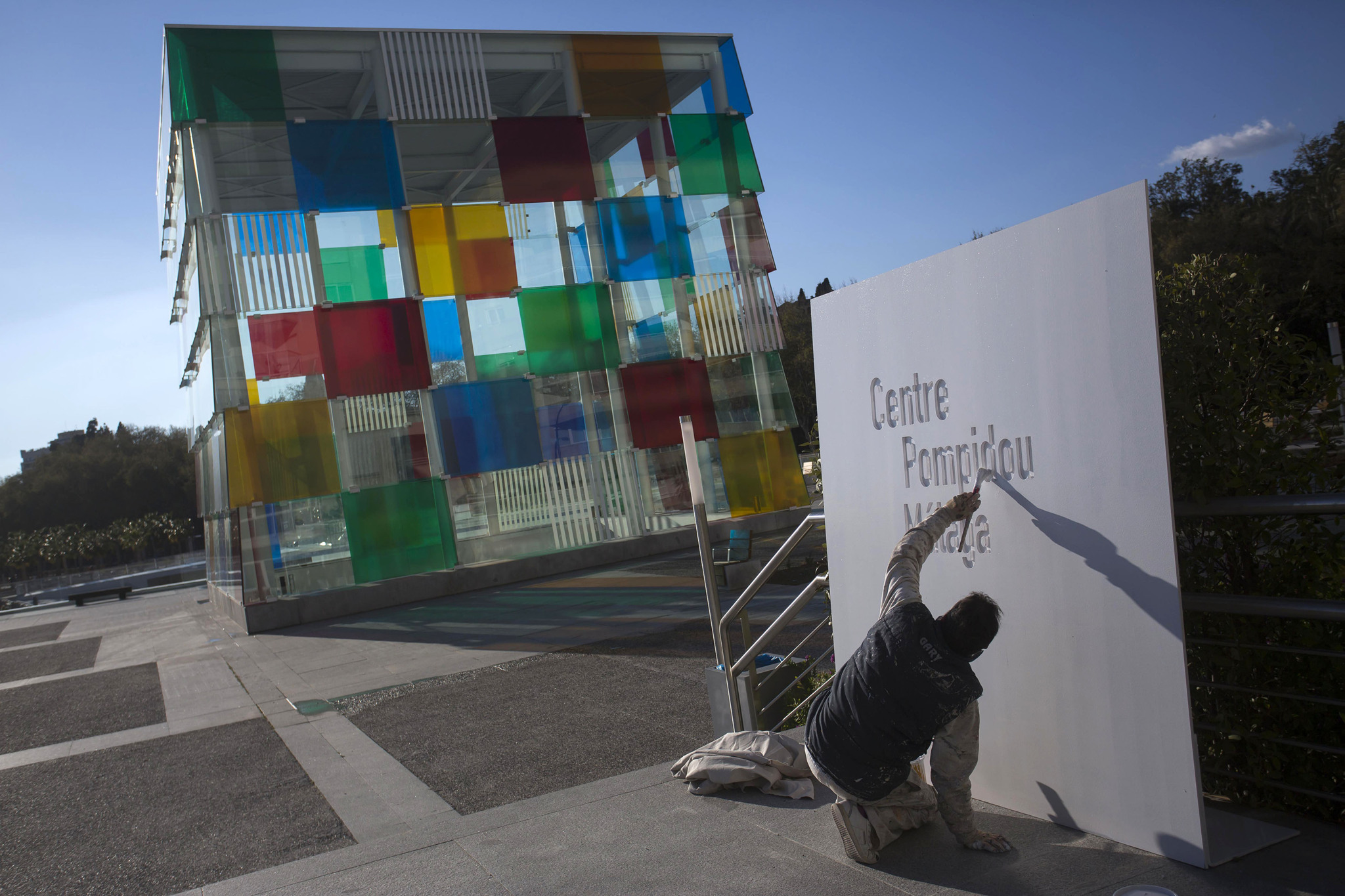 Museo Pompidou Malaga.Malaga And Andalusia Welcome The First Centre Pompidou Outside France