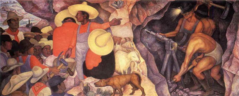 Diego de Rivera El agitador