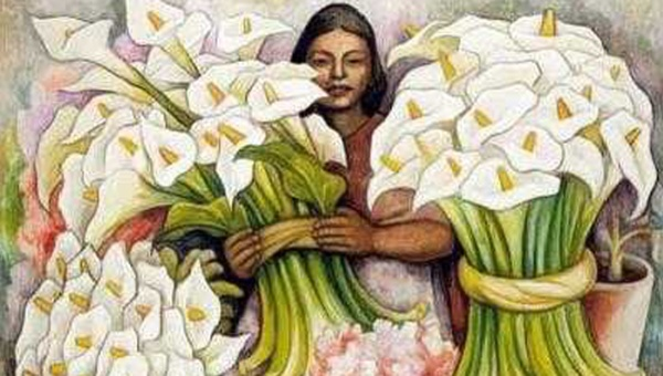 Diego de Rivera vendedora de alcatraces